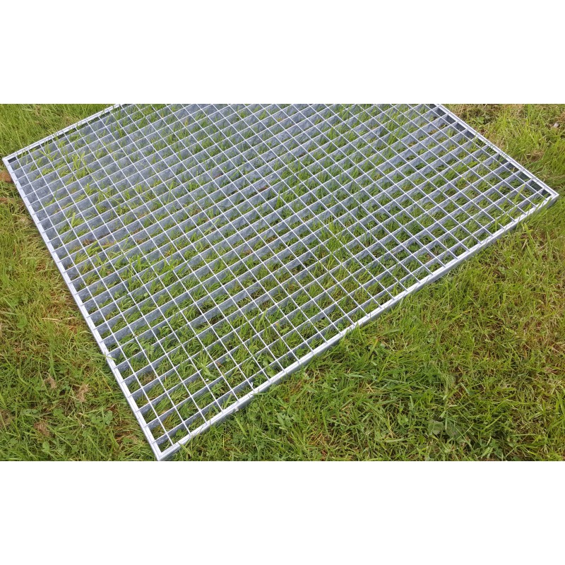 grille caillebotis acier galvanis antid rapant 1000 x 1000 mm. Black Bedroom Furniture Sets. Home Design Ideas