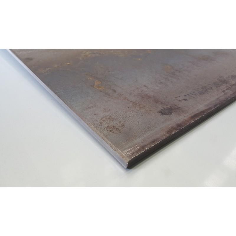 Tôle bandes 2 mm x 100 mm x 500 mm en tôle Plaques Panneaux Découpe Acier Métal