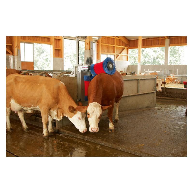 Brosse à Vaches de nettoyage HAPPYCOW DUO pour étable