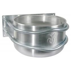 Mangeoire ronde en Aluminium avec support acier zingué - 18 L - KERBL