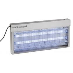 TUE MOUCHES électrique inox EcoKill 2x20W Bleu