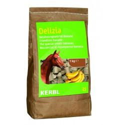 FRIANDISES DELIZIA pour chevaux et poneys - 1kg - saveur banane