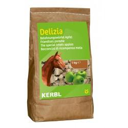 FRIANDISES DELIZIA pour chevaux et poneys - 1kg - saveur pomme