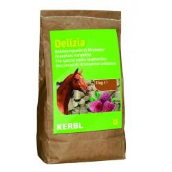 FRIANDISES DELIZIA pour chevaux et poneys - 1kg - saveur framboise