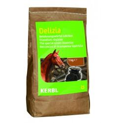 FRIANDISES DELIZIA pour chevaux et poneys - 1kg - saveur réglisse