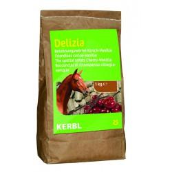 FRIANDISES DELIZIA pour chevaux et poneys - 1kg - saveur cerise
