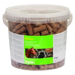 FRIANDISES DELIZIA pour chevaux et poneys - 3kg - saveur réglisse