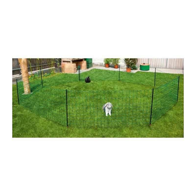 FILET A LAPINS vert simple pointe - 50m