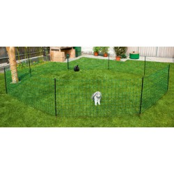 FILET A LAPINS vert double pointe H 65 cm - 50m