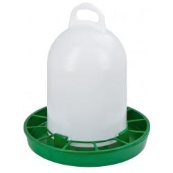 NOURISSEUR PVC à trémie pour poules et cailles 4 kg