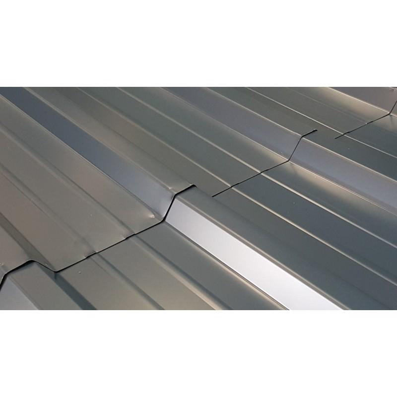 T le profil e 2m bac acier pour toiture et bardage bleu for Tole isolante pour toiture