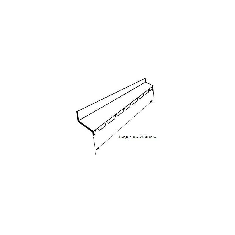 Panneau Sandwich 7m10 Eco 30 Mm Sous Face Aluminium Gris Anthracite Ral 7016