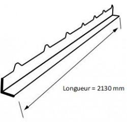 Cache Mousse Panneau Sandwich Eco 30mm RAL7016 Gris Anthracite - 2m10