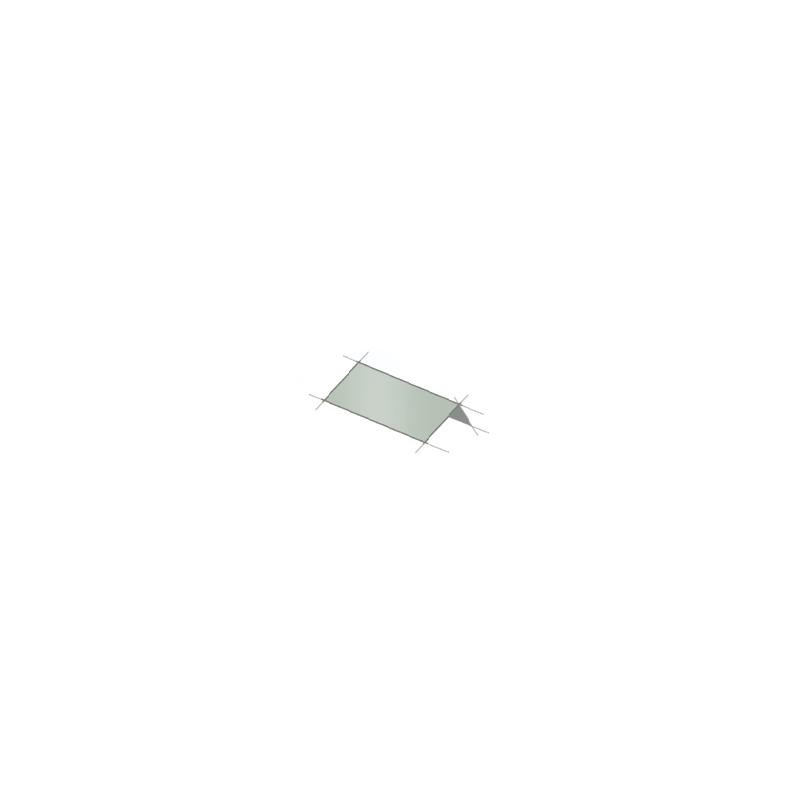fa ti re lisse double pente t le bac acier ral7016 gris anthracite. Black Bedroom Furniture Sets. Home Design Ideas