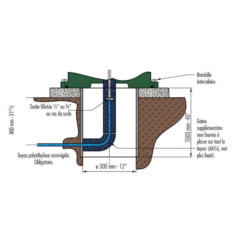 Abreuvoir Isotherme THERMOLAC 40 GV - LA BUVETTE