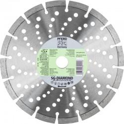 Disque à tronçonner DIAMANT 230 mm x 22,23 SG - PFERD