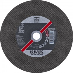 Disque Fin à tronçonner Acier 230 mm-1.9 A 46 S SG-ELASTIC/22,23 Droit - PFERD - PAR 25