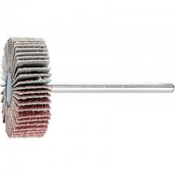Roue de ponçage à lamelle abrasive sur tige Diam. 30x10mm/3mm Grain 80 - PFERD