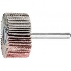 Roue de ponçage à lamelle abrasive sur tige Diam. 40x20mm/6mm Grain 120 - PFERD