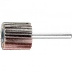 Roue de ponçage à lamelle abrasive sur tige Diam. 25x25mm/6mm Grain 180 - PFERD