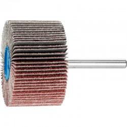 Roue de ponçage à lamelle abrasive sur tige Diam. 50x30mm/6mm Grain 60 - PFERD