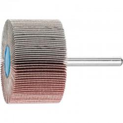 Roue de ponçage à lamelle abrasive sur tige Diam. 50x30mm/6mm Grain 180 - PFERD