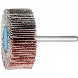 Roue de ponçage à lamelle abrasive sur tige Diam. 50x20mm/6mm Grain 60 - PFERD