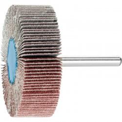 Roue de ponçage à lamelle abrasive sur tige Diam. 60x20mm/6mm Grain 80 - PFERD