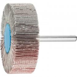 Roue de ponçage à lamelle abrasive sur tige Diam. 60x20mm/6mm Grain 240 - PFERD