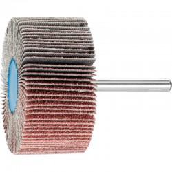 Roue de ponçage à lamelle abrasive sur tige Diam. 60x30mm/6mm Grain 60 - PFERD