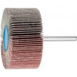 Roue de ponçage à lamelle abrasive sur tige Diam. 60x30mm/6mm Grain 80 - PFERD