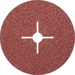 Disque Fibre abrasif pour meuleuse diamètre 180mm/22mm Grain 24 - PFERD
