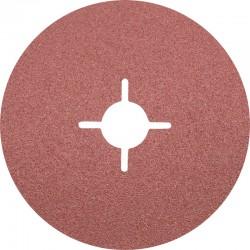 Disque Fibre abrasif pour meuleuse diamètre 125mm/22mm Grain 60 - PFERD