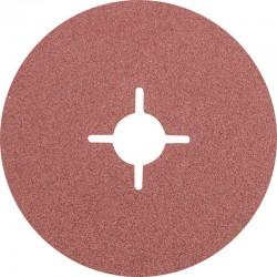 Disque Fibre abrasif pour meuleuse diamètre 125mm/22mm Grain 80 - PFERD