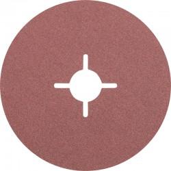 Disque Fibre abrasif pour meuleuse diamètre 125mm/22mm Grain 120 - PFERD