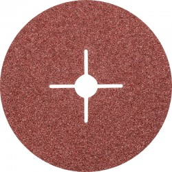 Disque Fibre abrasif pour meuleuse diamètre 180mm/22mm Grain 24 - PFERD - PAR 25