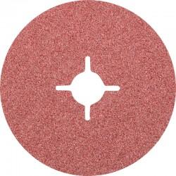 Disque Fibre abrasif pour meuleuse diamètre 125mm/22mm Grain 36 - PFERD - PAR 25
