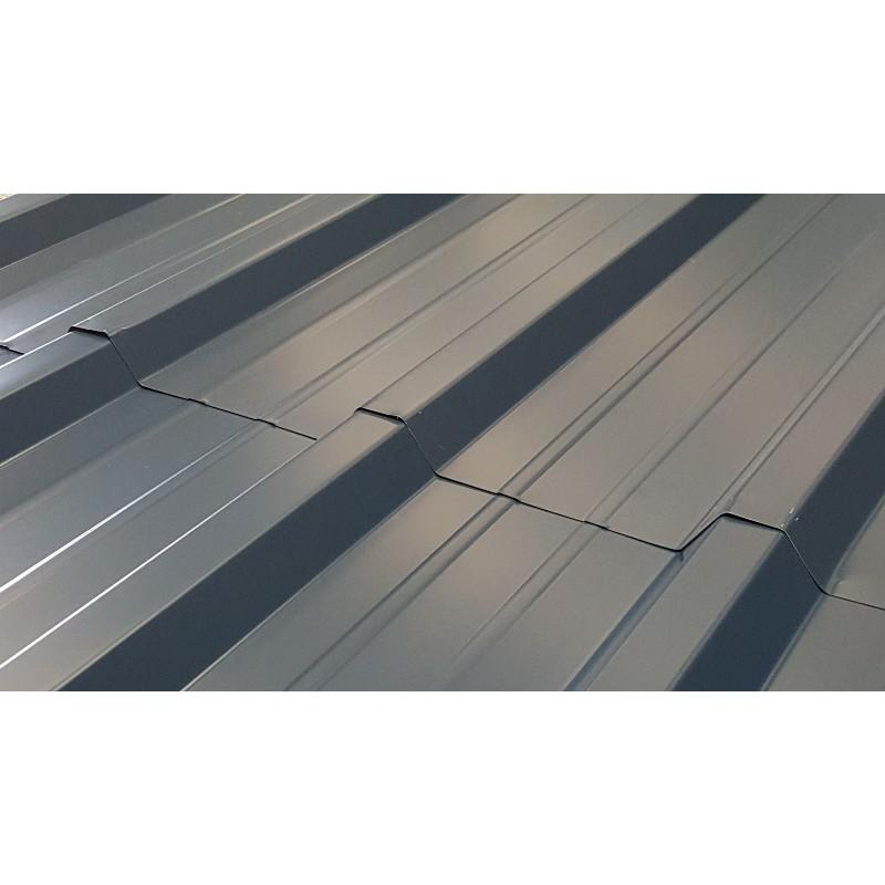 t le bac acier 6 m pour toiture et bardage bleu nuit ral 5008
