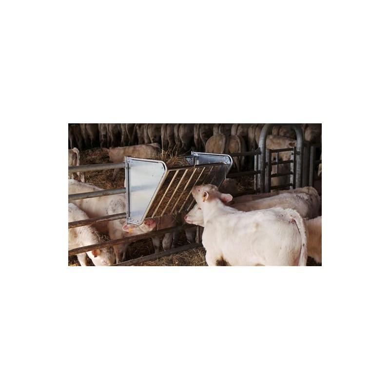 RATELIER Galvanisé Moutons et Poneys 1 M - JOURDAIN