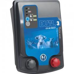 Electrificateur LACME DUAL D3 - Alimentation Mixte 12V/230V