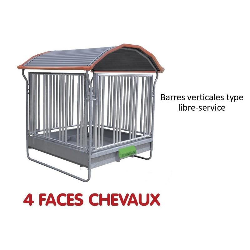 RATELIER 4 FACES SPECIAL CHEVAUX - JOURDAIN