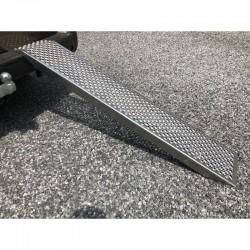 Rampe de chargement 2m Droit Aluminium pour remorque - Charge Max. 500 kg