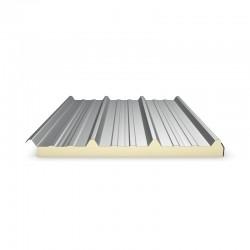 Panneau Sandwich 3m10 ECO 30 mm + Sous Face Aluminium  Gris Anthracite RAL 7016