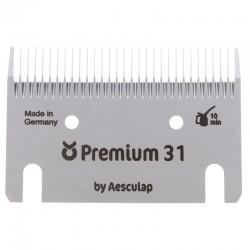 JEU DE PEIGNES Premium 31/15 dents tonte de finition - AESCULAP