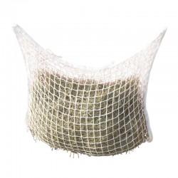 Filet à foin blanc à pendre 90x60 cm - mailles 3x3 cm - KERBL
