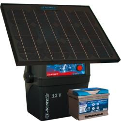 Electrificateur Solaire LACME SECUR SUN+33W+ACCU 62 AH