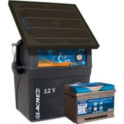 Electrificateur Solaire LACME SECUR STAR 14W+ACCU 62 AH