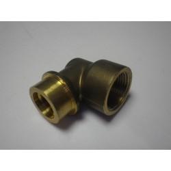 Coude laiton 3/4 FORSTAL A TUBE  Sachet de 1 pièce