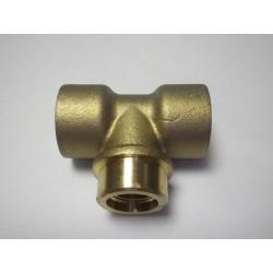 Té laiton 3/4 FORSTAL A TUBE  Sachet de 1 pièce