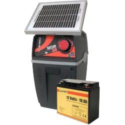 Electrificateur LACME SECUR 35 SOLAIRE COMPLET